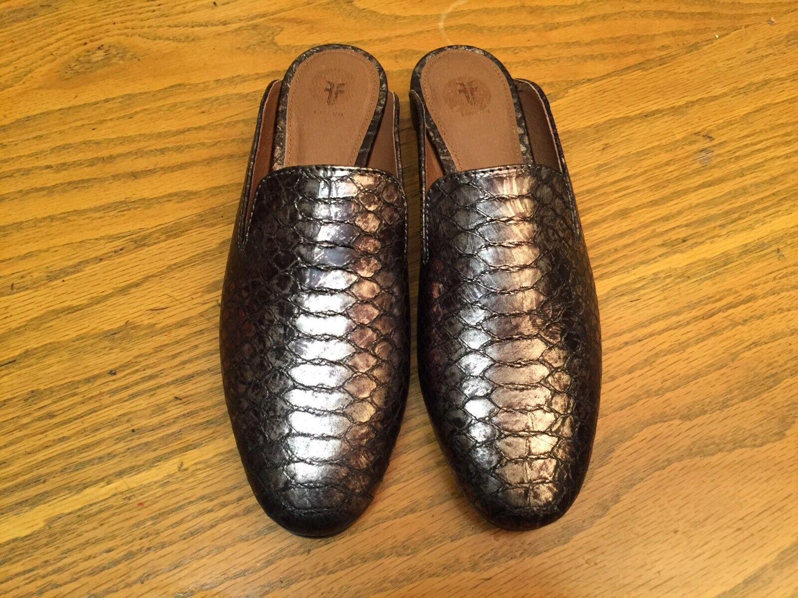economico e di alta qualità FRYE TERRI donna SLIP SLIP SLIP ON LEATHER MULE scarpe NEW Dimensione 7  negozio online