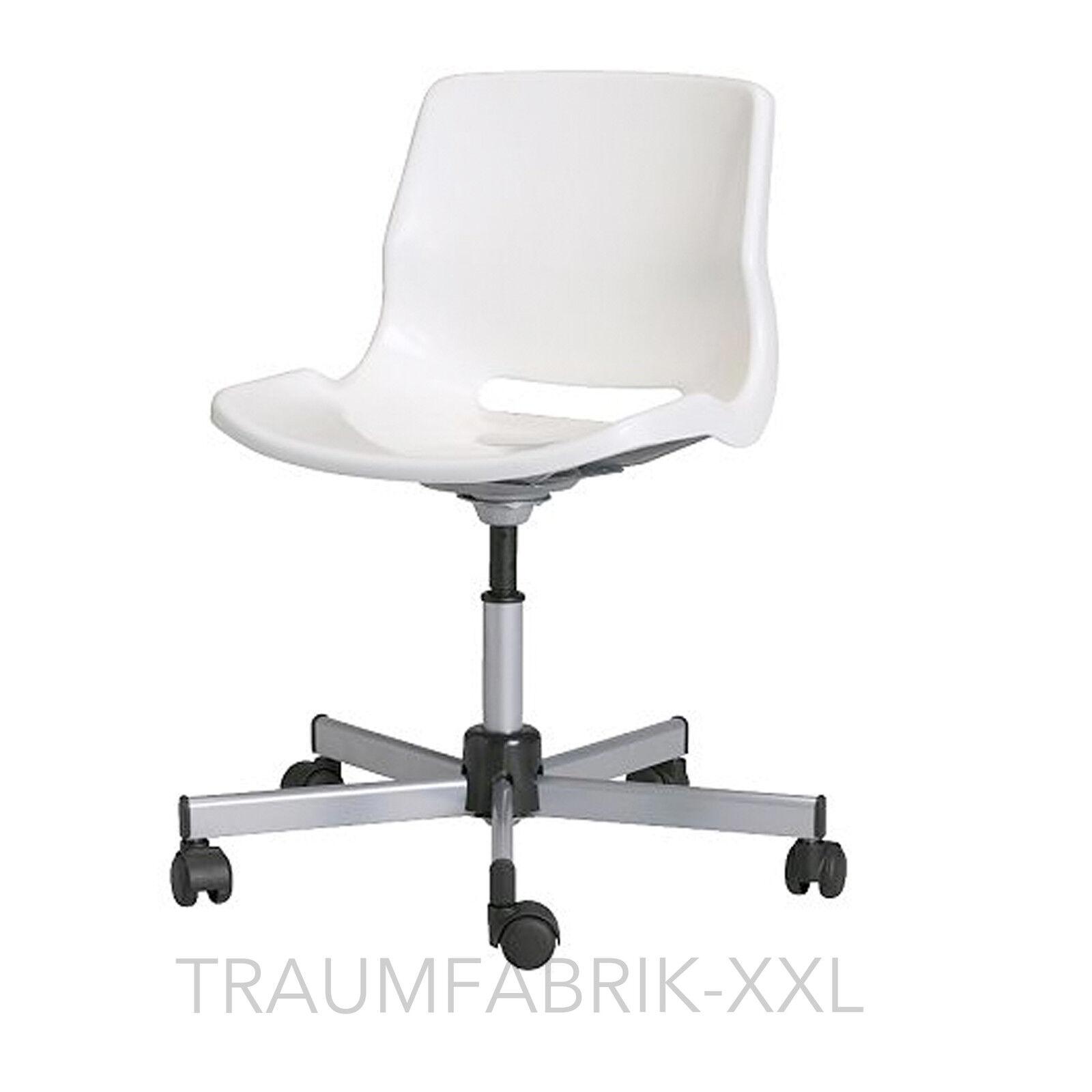 Schreibtischstuhl weiß  Bürodrehstuhl Bürosessel Drehstuhl Chefsessel Bürostuhl weiss ...
