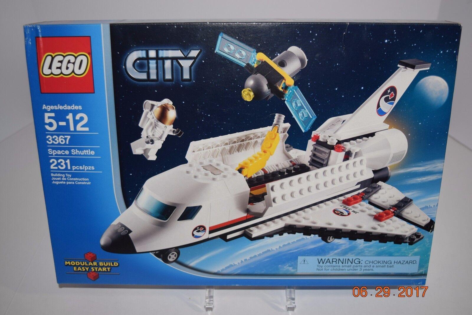 Lego 3367-City  navette spatiale - 5+-231 ANS PC-SEALED-Retraite-REV photos-NEUF  livraison gratuite
