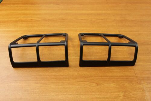 Jeep Wrangler Set Of Satin Black Rear Tail Light Guards Mopar OEM
