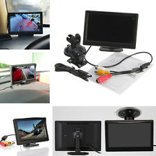 """5"""" TFT-LCD 480*272 Car Rear View Rearview Monitor Reverse Backup W/ Stand Mount"""
