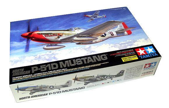 Tamiya Aircraft Model 1 32 Airplane North American P-51D Mustang Hobby 60322