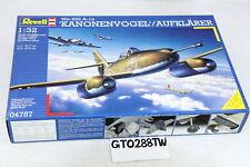 Revell 1/32 Messerschmitt Me 262 A-1a Kanonenvogel Aufklarer 50mm Cannon #04757