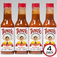 Tapatio Salsa Picante Authentic Hot Sauce - 5 Oz (four Bottles)