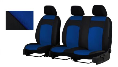 Tailored Eco-Leather Seat Covers FORD TRANSIT 9 SEATER 2000-2014