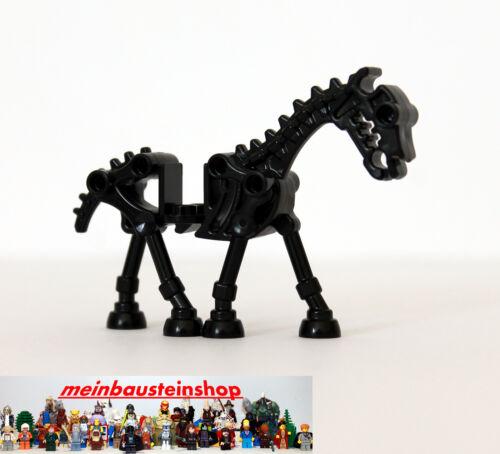 Pferd 59228 Black Skeleton Horse Lego® Castle Schwarzes Skelettpferd 4505756