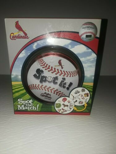Card Match It Game New Masterpieces MLB St Louis Cardinals Edition Spot It