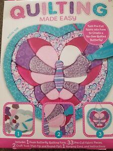 Details About Melissa Doug Quilting Made Easy Butterfly Ages 6 Brand New