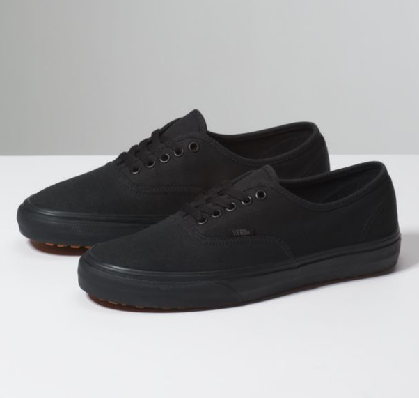 Vans Authentic Made for the makers noir restaurant Chaussures Femme Taille 7