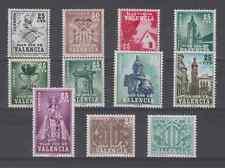 ESPAGNE - PLAN SUR VALENCIA 1963-85 MNH COMPLETO NUEVO SIN FIJASELLOS ESPAÑA