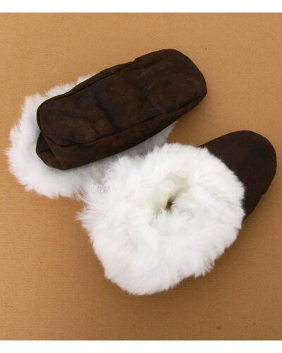 BNWT Women/'s Luxury Alpaca Fur Trimmed Slippers!