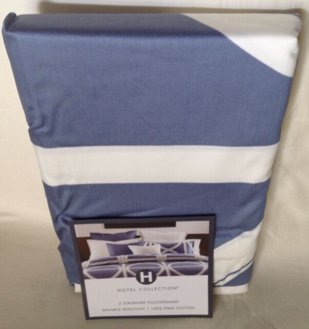 Hotel Collection Transom Blue Standard