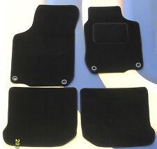 SEAT LEON may 2005 - 2009 & FR / CUPRA BLACK QUALITY CARPET MATS + 4 X CLIPS