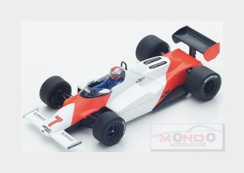 McLaren f1 mp4-1c  7 German GP 1983 John Watson Weiß rot Spark 1 43 s4841