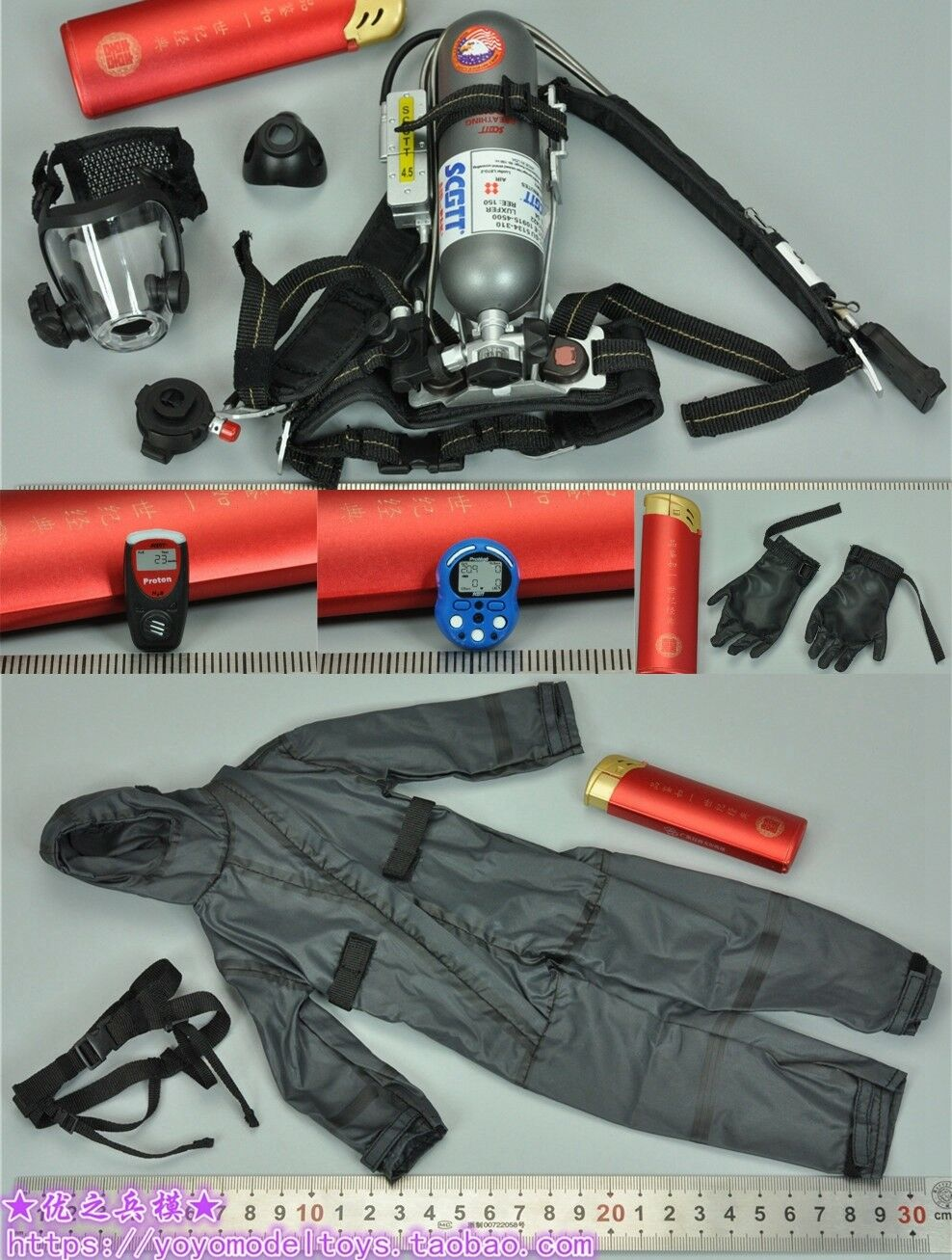 Oxygen System Set for 78051 Naval Mountain Warfare Warfare Warfare Special Forces 1 6th Figure b988a5