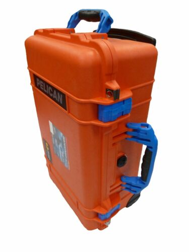 Orange /& Blue Pelican 1510 case With Foam.