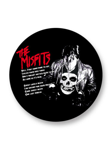 "Pin Button Badge Ø25mm 1/"" The Misfits Punk Rock US"