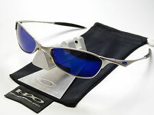 OAKLEY WIRETAP SILVER ICE SONNENBRILLE SQUARE WIRE WHISKER HALF PROBATION WHY 8