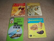 JOB LOT OF I-SPY AND QUIZ ME 1950s ON  BOOKS SEASHELLS MAMMALS WONDERS BIRDS ETC