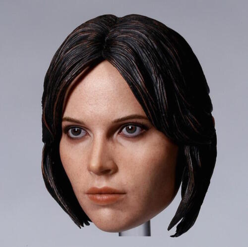 1//6 Custom Felicity Jones Head Sculpt Star Wars For Hot Toys Jyn Erso ❶USA❶