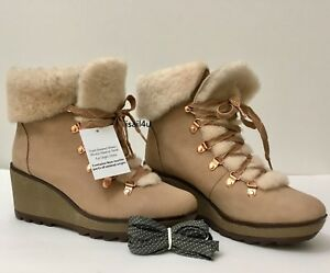 f8cced7de04 J.Crew Nordic Wedge Boots NWB Women s US Size  7 8 9 10