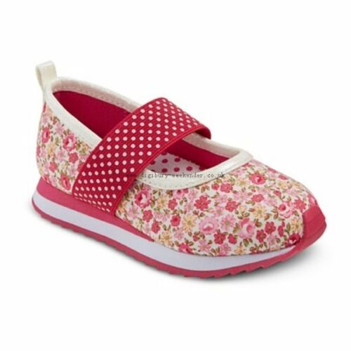 Toddler Girls Just Buds Isla Mary Jane Shoes Sneakers Size 10 Pink NWT