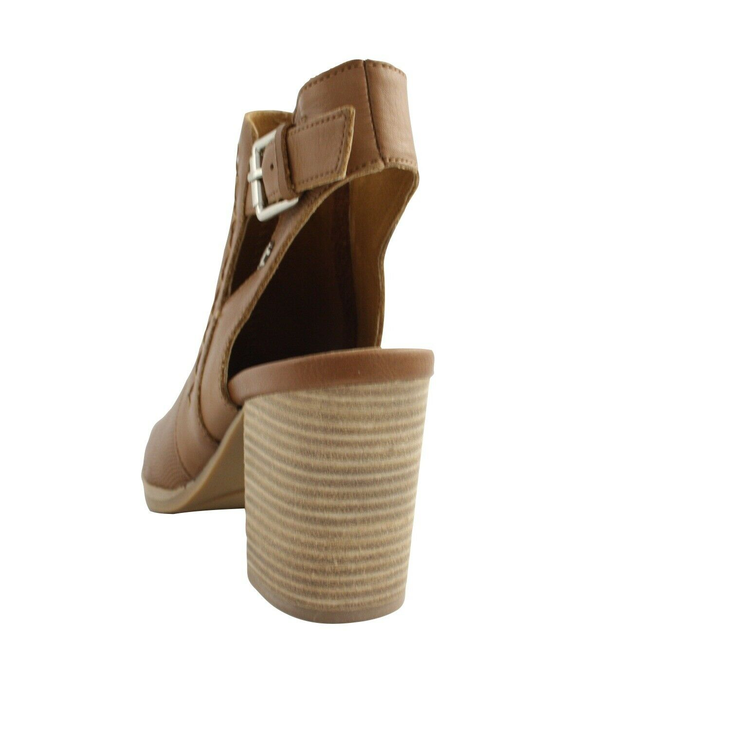 Shoes Ankle Summer Carmela Donna Pelle Brown Leather Heel Comfortable