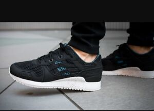 low priced a6970 00192 Details about asics gel lyte iii Black DN60LO9090 RRP £90.00