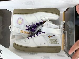 new styles e5ec4 325fd Image is loading Nike-Special-Field-Air-Force-1-Mid-LA-