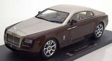 2015 Rolls Royce Wraith  Brown met. /Beige met in 1/18 Scale by Model 777 New!