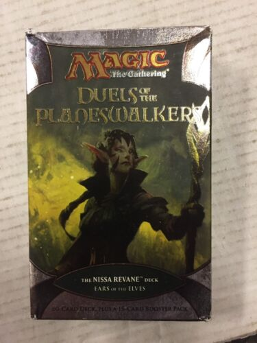 Magic The Gathering Duels Of The Planeswalkers Ears Of The Elves Theme Deck