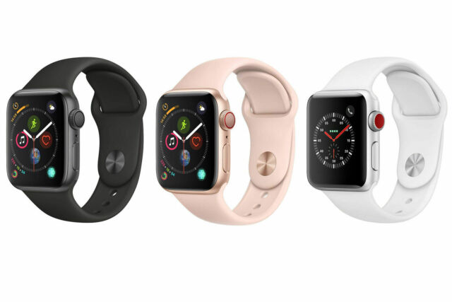 Apple Watch Hermes Series 4 Gps Cellular 44mm Stainless Authentic Rarely For Sale Online Ebay