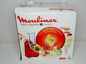 Moulinex Fresh Express Shredder Elektrisches Schnitzelwerk DJ756G 200 Watt (Me70