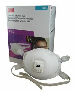 3M 8212 N95 Particulate Welding Respirator, 1 Box Of 10 Masks, EXP. 06/2023