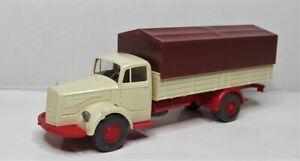 Wiking-1-87-Mercedes-Benz-L-6600-tablillas-camiones-OVP-859-04-blanco-crema