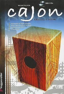 1 of 1 - CAJON BK2CD by MATTHIAS PHILIPZEN (Paperback / softback)