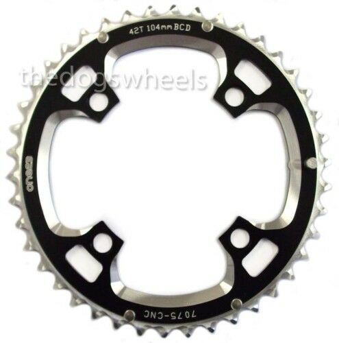One23 Chain Ring 104mm BCD 42T 7075 CNC Alloy MTB Bicycle Bike Chainring 42Teeth