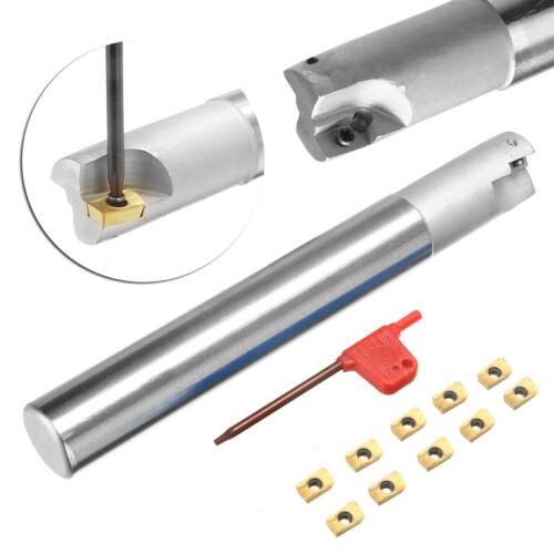 AU BAP 300R C20-20-150 Indexable Milling Cutter+10pcs APMT1135PDERDP Inserts H