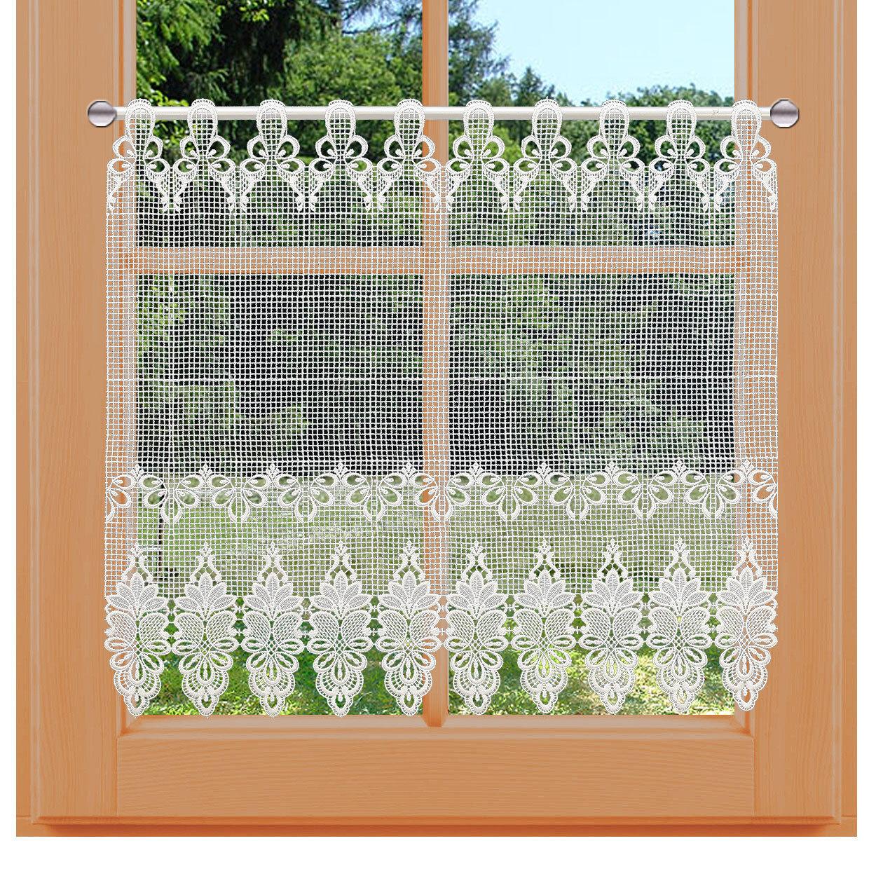 Flächen-Luftspitzengardine Farisa Farisa Farisa Plauener Spitze exklusiv bei kollektion.MT | Professionelles Design  | Perfekt In Verarbeitung  28dffa