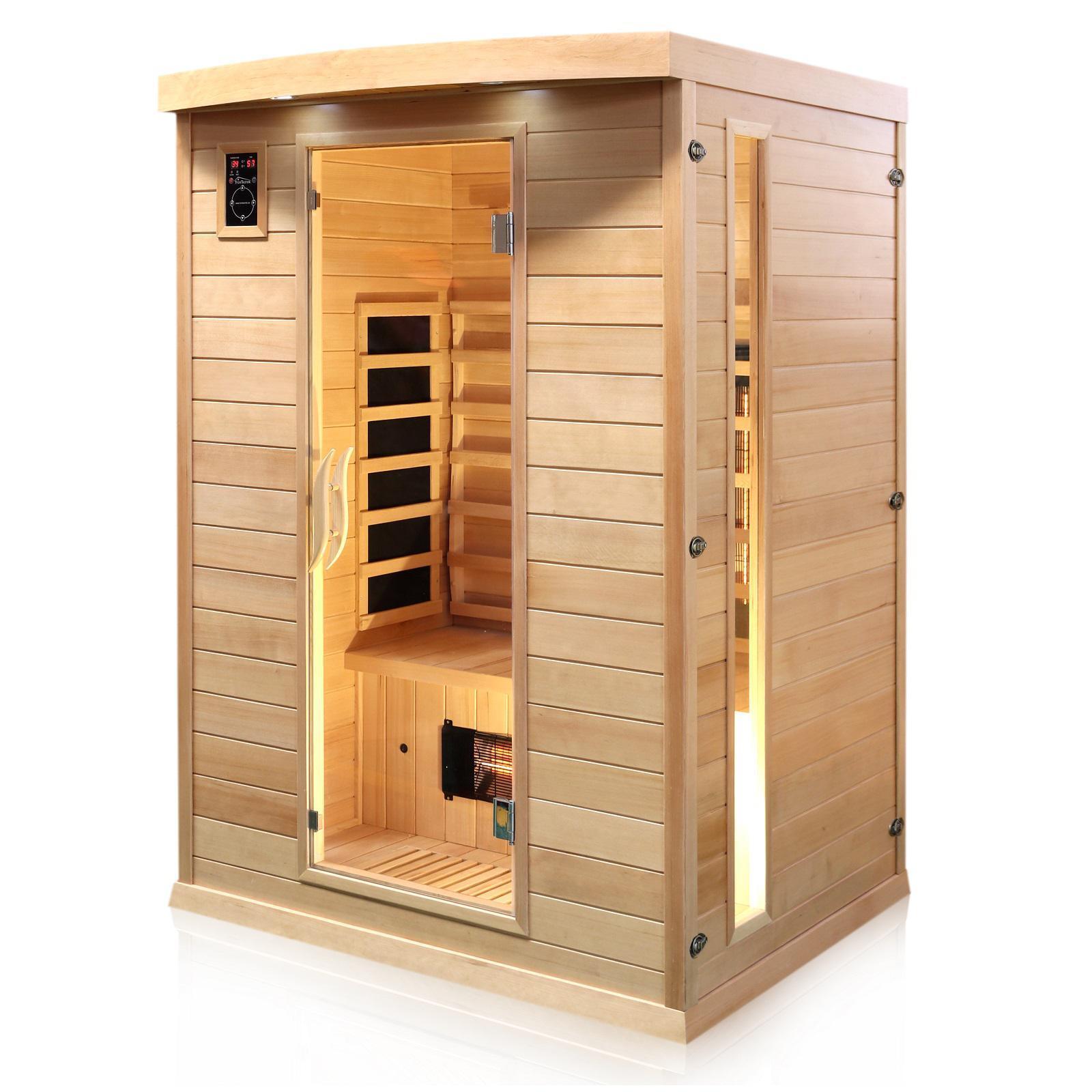 Infrarotkabine Infrarotsauna Wärmekabine Sauna Saunakabine 2 Person Vollspektrum