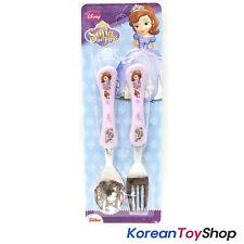 Disney Sofia the First Princess Stainless Steel Spoon Fork Set Kids / BPA Free