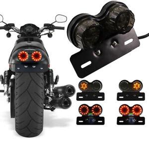 Universal-Motorbike-LED-Rear-Tail-Light-Motorcycle-Twin-Brake-Indicator-Lamp-AU