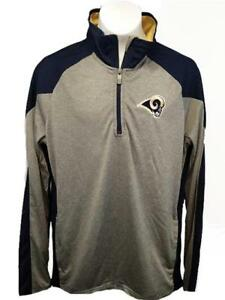 d8f16975 New Los Angeles Rams Youth Sizes S-M-L-XL Coaches 1/4 Zip Light ...