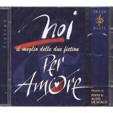 PIVIO & ALDO DE SCALZI - Noi / Per amore - Il meglio delle due fiction - CD