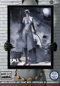 Catwoman-DC-Animated-Universe-Dark-City-Comic-Art-Print-Series-200-Edition