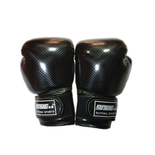 Adults Boxing Gloves Fighting Kickboxing Mitts Sparring Punch Bag Training MMA