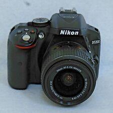 Nikon D D5300 24.2MP Digital SLR Camera - Black (Kit w/ AF-S DX 18-55mm VR II Lens)