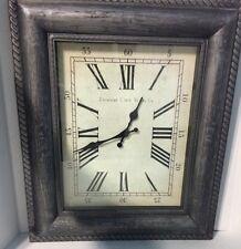 Vintage Edinburgh Clock Works Co. Frame Clock