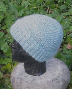 Image is loading PRINTED-KNITTING-INSTRUCTIONS-CHUNKY-GARTER-STITCH-BEANIE- HAT- a4b905cde94