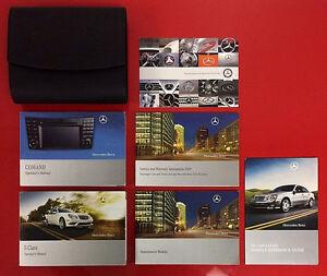 2008-2009-Mercedes-Benz-E-Class-Owners-Manual-Set-w-NAV-2008-2009-E350-E550